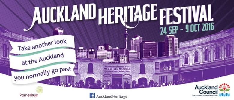 AKL Heritage Fest - Auckland Domain Heritage Walk