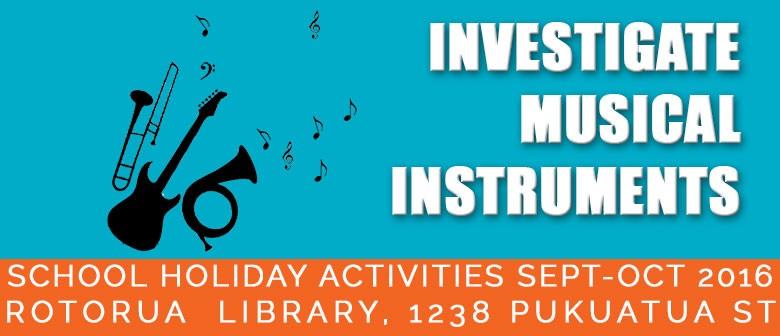 Investigate: Musical Instruments