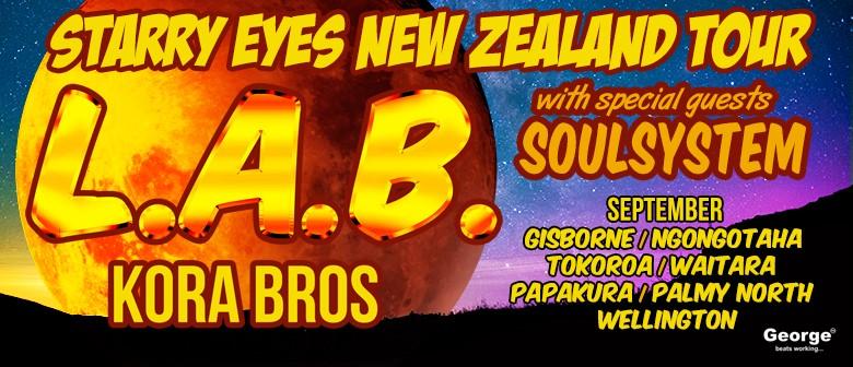 L.A.B. (Kora Bros) Starry Eyes Tour: CANCELLED