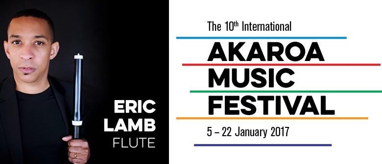IAMF Summer School 2017 - Flute - Eric Lamb