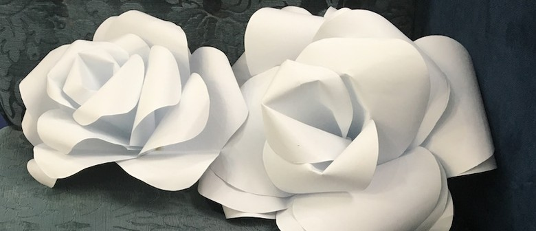 Giant Paper Flower Sculpture Workshop