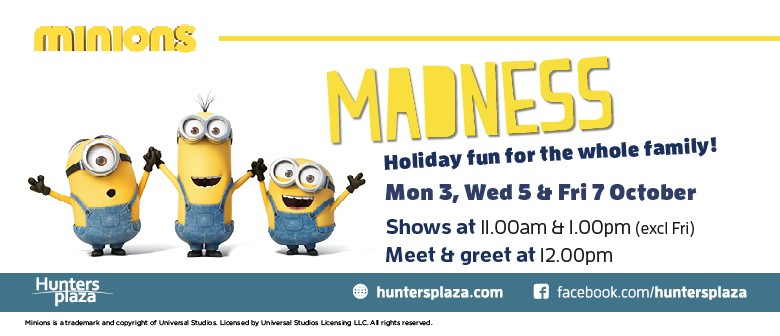 Come Join In the Minion Madness