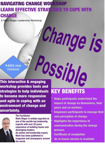 How to effectively navigate change a leadership workshop for 152 the terrace wellington