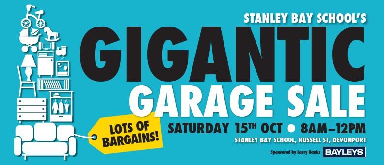 Stanley Bay School's Gigantic Garage Sale