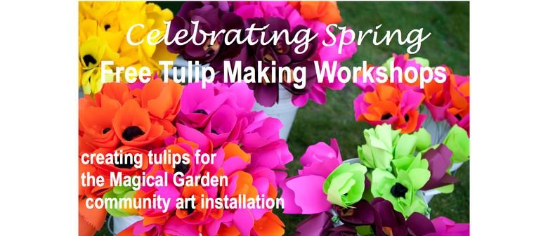 Free Tulip Making Workshops