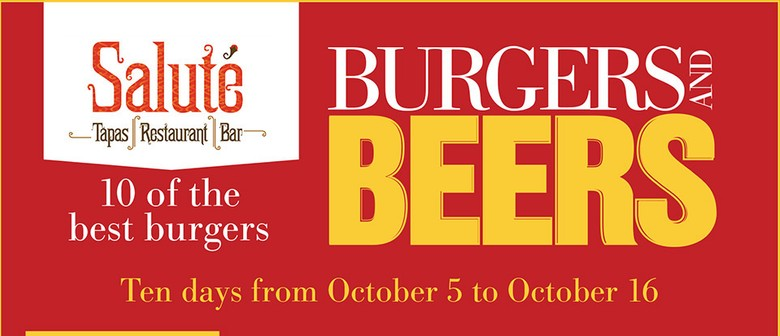 Saluté Annual Burger and Beer Festival