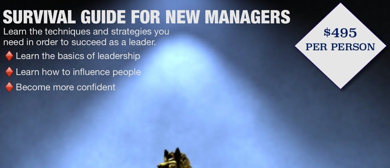 Survival Guide For New Managers: A 1-day Leadership Workshop