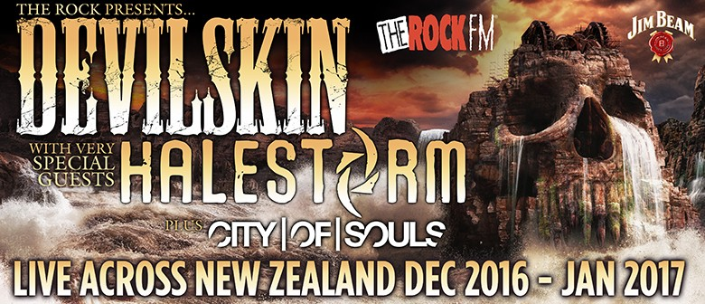 Devilskin New Zealand Tour 2016/17