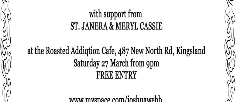 Joshua Webb with St. Janera & Meryl Cassie