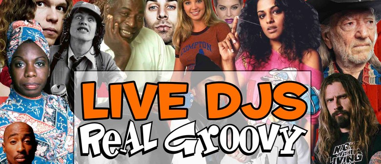DJs at Real Groovy Records