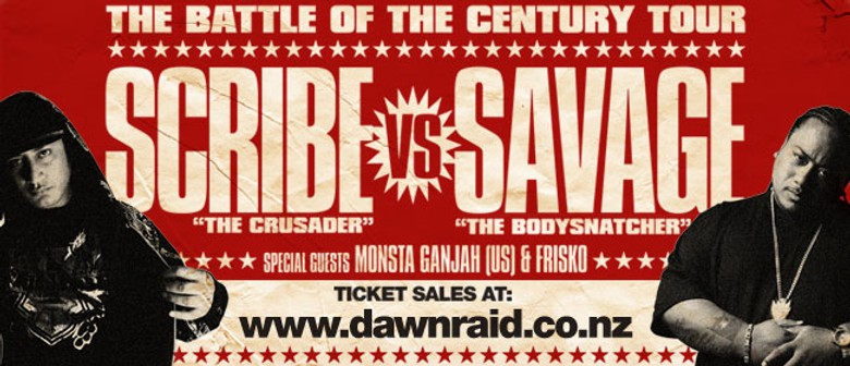 "Scribe vs Savage ""Battle of the Century"""