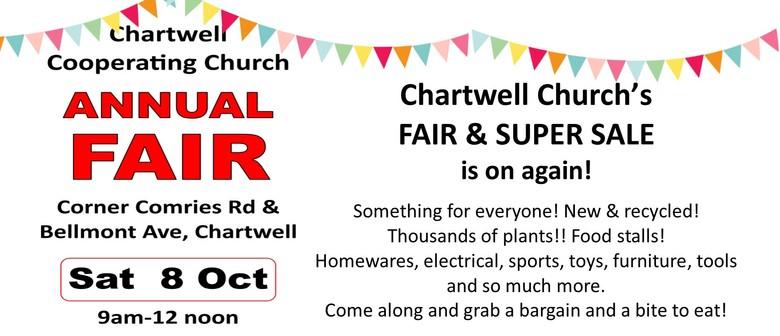 Chartwell Church's Famous Fair