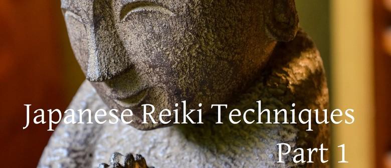 Japanese Reiki Techniques 1