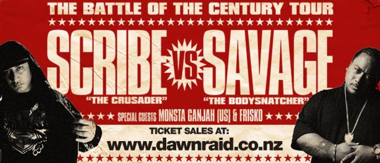 "Scribe vs Savage ""Battle of the Century"""