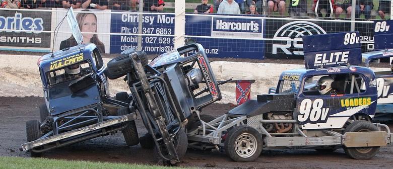 MItchell Downs Takeaways NZ Stockcar Grand Prix