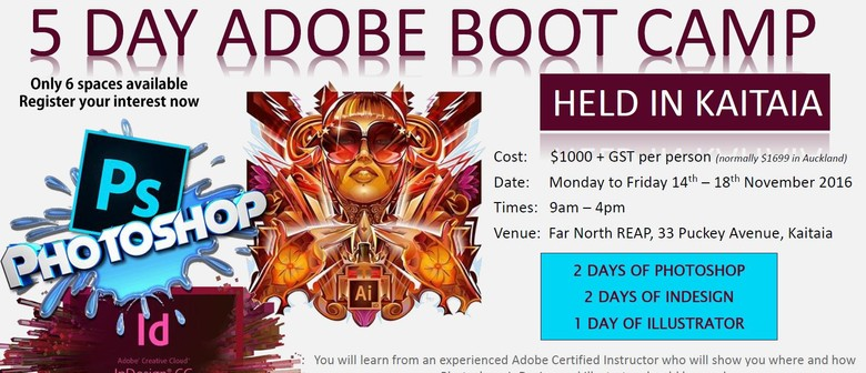 5 Day Adobe Boot Camp