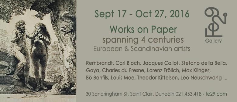 Works On Paper - Spanning 4 Centuries