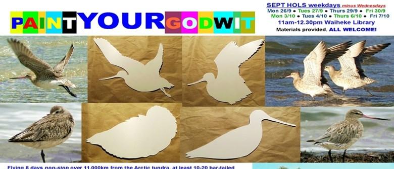 Paint Your Godwit
