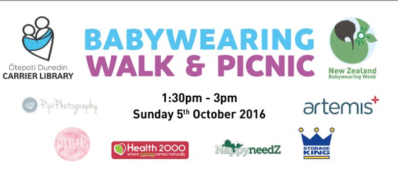 Babywearing Walk & Picnic - NZ Babywearing Week 2016