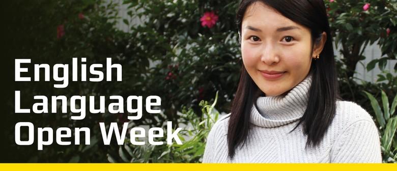 English Language Open Week
