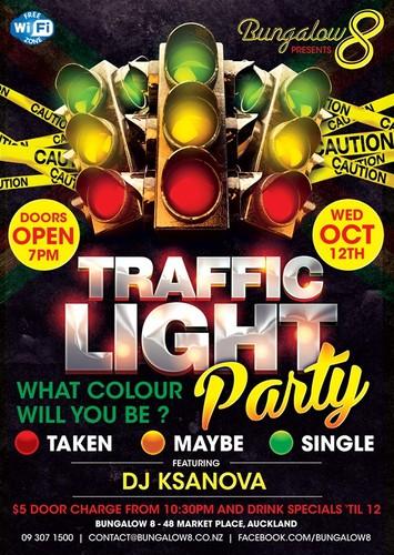 Auckland S Biggest Traffic Light Party Auckland Eventfinda