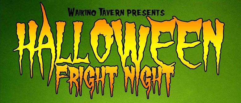 Waikino Tavern Halloween Fright Night