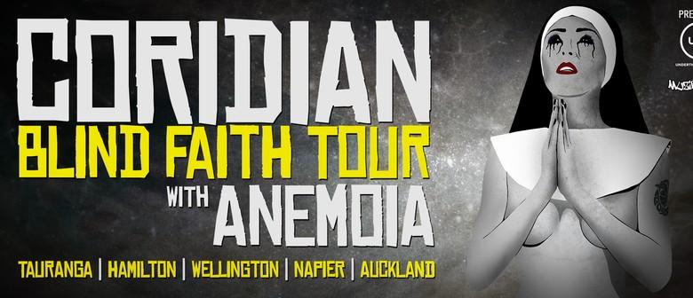 Coridian Blind Faith Tour with Anemoia