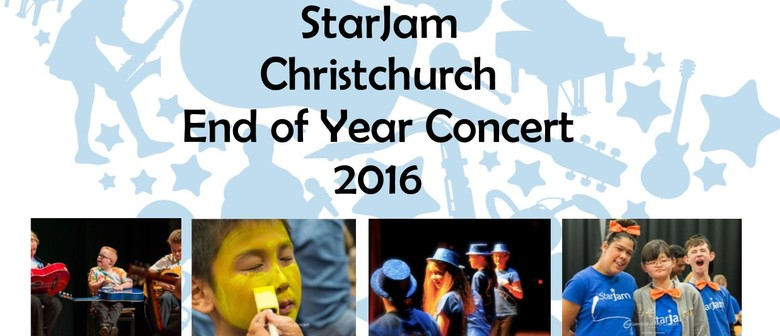 StarJam Christchurch End of Year Concert 2016