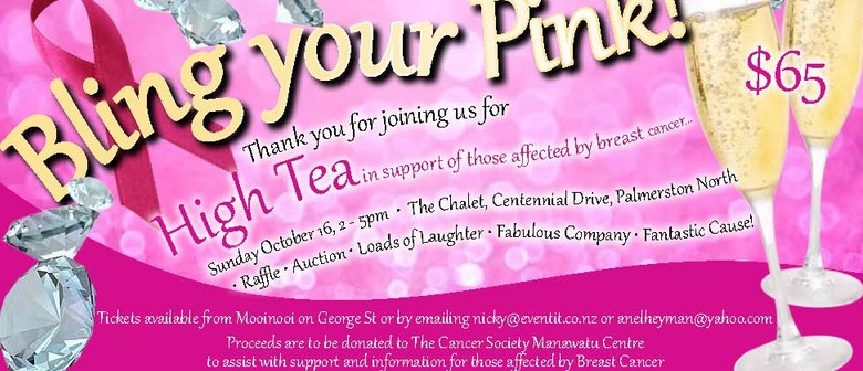 Bling Your Pink Fundraiser