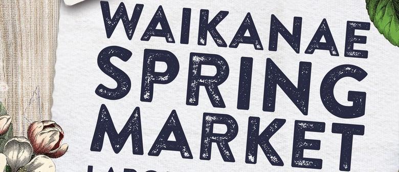 Waikanae Labour Weekend Market