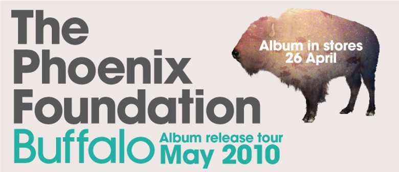 The Phoenix Foundation Album Release Tour 2010