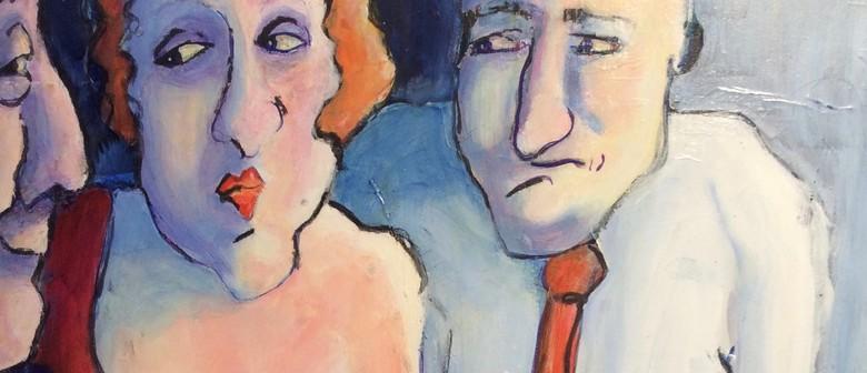 Val Griffith-Jones A Wry View Art Exhibit