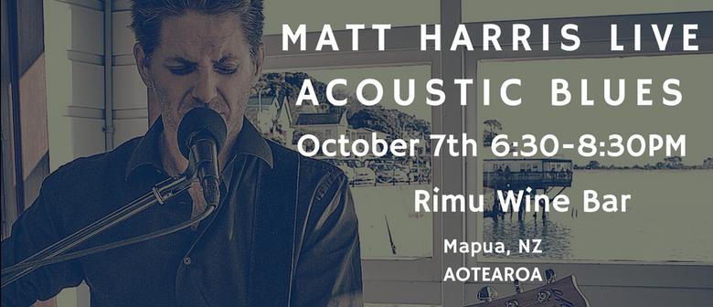 Matt Harris - Acoustic Blues