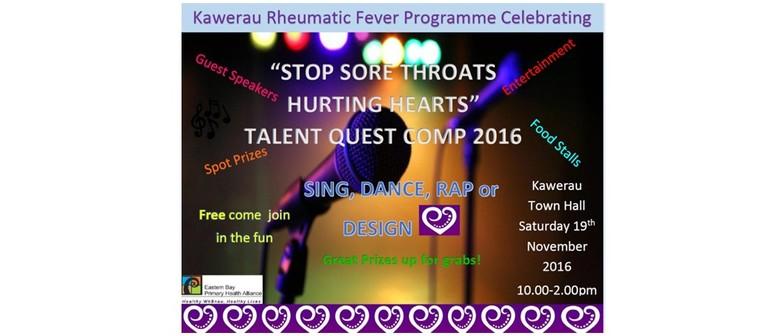 Stop Sore Throats Hurting Hearts Talent Quest