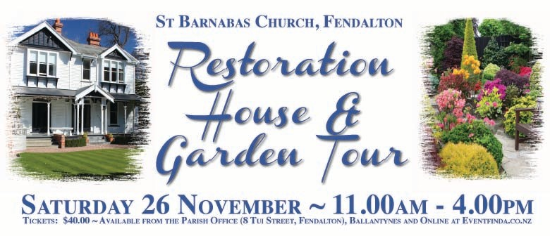 Restoration House and Garden Tour