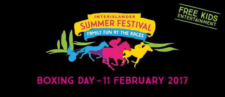 Interislander Summer Festival Omakau Races