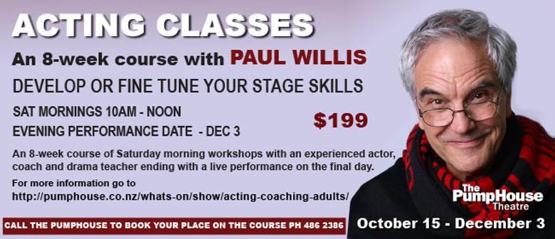 Acting Classes with Paul Willis