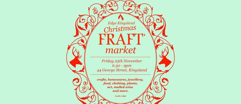 Edge Kingsland Christmas Fraft Market