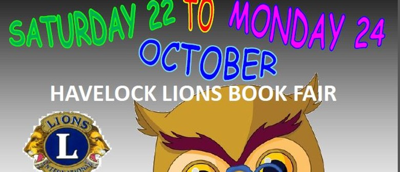 Havelock Lions Book Sale