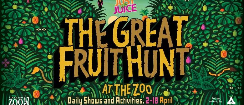 Just Juice April School Holidays: The Great Fruit Hunt