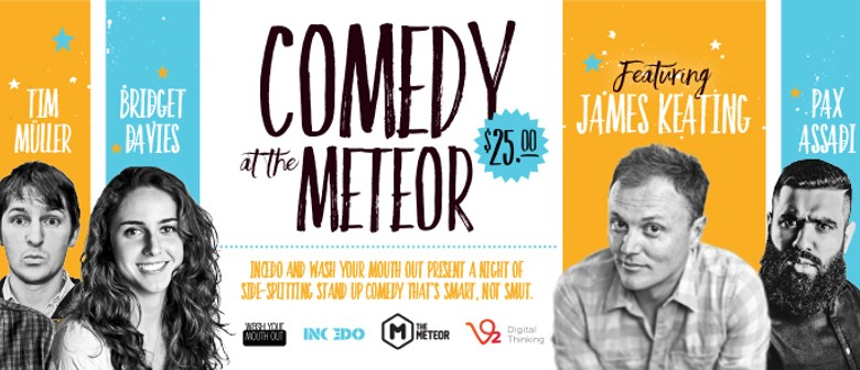 Comedy At the Meteor
