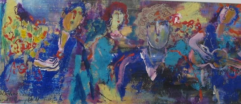 Original Art Exhibition By Rhonda Campbell