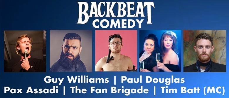 Backbeat Comedy: Guy Williams, Pax Assadi & More