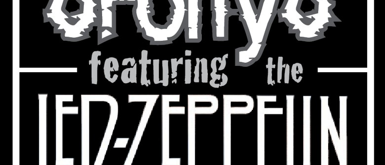 Led Zeppelin Set by 8forty8 - Garry Sharpe Young Tribute