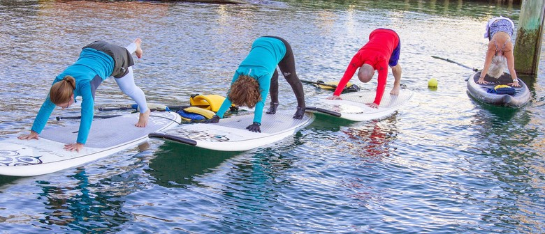 Beginner Stand-Up Paddleboard (SUP) Yoga