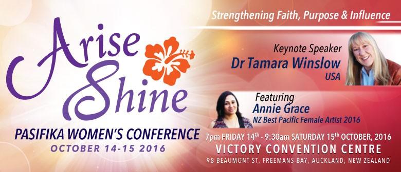 Arise Shine Pasifika Women's Conference 2016