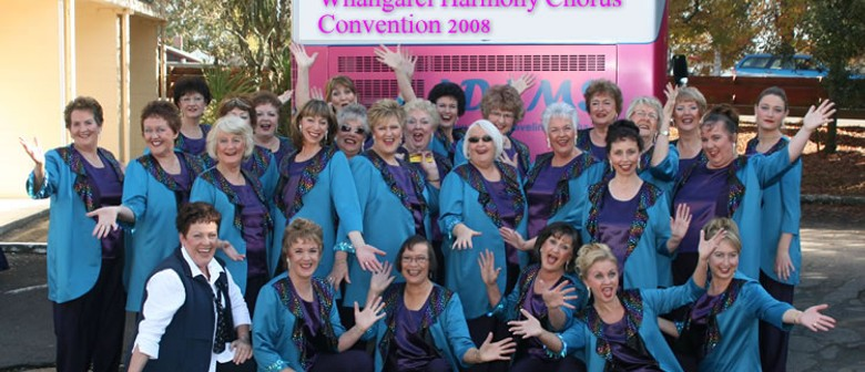 Whangarei Harmony Chorus presents Dress Rehearsal