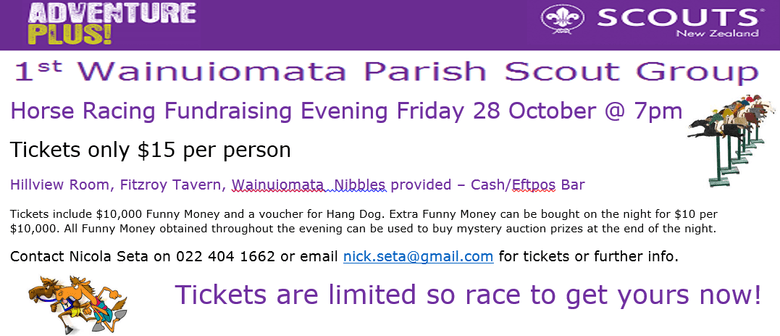 Horse Racing Fundraising Evening