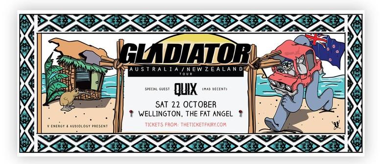 Gladiator (USA) & Quix (Ak)