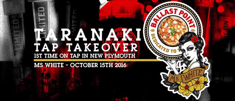 Ballast Point Brewery (USA) - Taranaki Tap Takeover